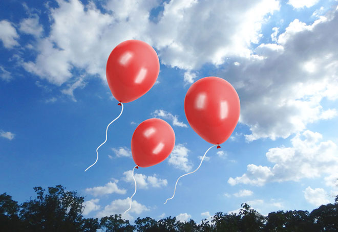 balloon photo