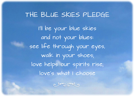 Blue Skies Pledge