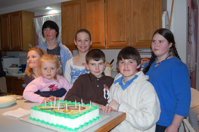 Brendan and his cousins
